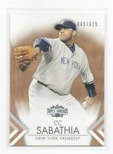 2012 Topps Triple Threads Sepia Parallel /625 Pick Any Complete Your Set