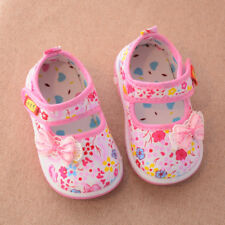 New Infant Baby Girls Walking Shoes Toddler Princess Squeaky Shoes Soft bottom