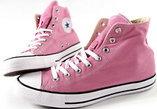 CONVERSE All Star hi Chuck Taylor Canvas shoes-NEW-CT Pink ROSE classic sneaker