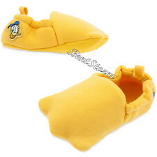 Donald Duck Tales Costume Dress Up Plush Baby SHOES SLIPPERS Disney Store 2017
