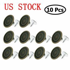 10pcs Mens Bachelor Buttons for Suspenders Replacement Instant Suspender Buttons