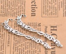 FREE SHIP Wholesale 2pcs Tibetan Silver Tendrils Bookmarks 81X20MM E54