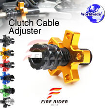 FRW 6Color CNC Clutch Cable Adjuster For Kawasaki Z ZR 750 07-10 07 08 09 10