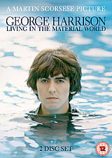 GEORGE HARRISON - LIVING IN THE MATERIAL WORLD - 2 DISC DVD NEW/SEALED
