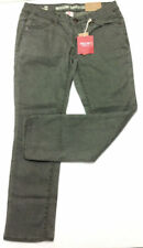 Mossimo Women's Cropped Jeans Low Waist Olive Green