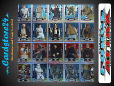 STAR WARS FORCE ATTAX MOVIE CARD SERIES 1 Individually Selectable - BRAND NEW