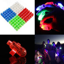 100-300Pc Finger Light Up Ring Laser LED Rave Party Favors Glow Beams Finger Toy