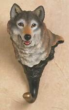 Wild Wings Timber Wolf Wall Hook Brand New
