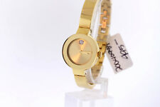 Ladies Movado 3600285 BOLD Gold Ion-Plated Stainless Gold-Tone Dial Bangle Watch