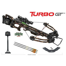 TenPoint Turbo GT Crossbow Package with 3x Pro-View 2 Scope Arrow Package