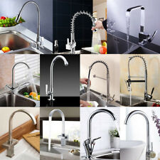 Modern Multi Style Pull Out Faucet Chrome Swivel Kitchen Basin Sink Mixer Tap