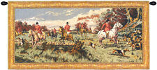 La Chasse a Courre French Classical Woven Art Wall Hanging Home Decor Tapestry