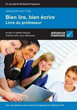 Bien lire, bien écrire Teacher's Book (Working with Text Types), Rodrigues, Isab