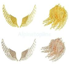 12Pcs Jewelry Charms Pendants DIY Vintage Alloy Wings Findings Making
