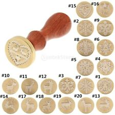 Classic Seal Wax Stamp Xmas Jingle Bell Engraved Metal Stamp for Envelope Letter