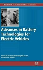 Advances in Battery Technologies for Electric Vehicles (Woodhead Publishing Se 0