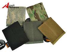 Airsoft Tactical Molle Belt Double Pistol Mag Magazine Pouch Flashlight Holster