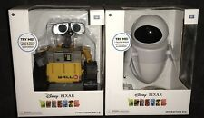 Disney PIXAR Wall-E Walle & EVE Interactive Talking Light Up Action Thinkway Toy