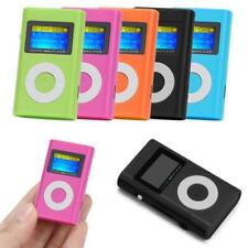 Mini USB Digital MP3 Player LCD Screen StereoMusic Support 32GB Micro SD TF Card