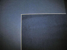 Navy Blue 11x14 or 16x20  Mat Matting for Picture Framing of Photos Art Painting
