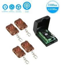 DC 12V 4CH IR Infrared Remote Control Switch Relay replace 433M RF Wireless N4N7