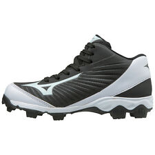 Mizuno 9-Spike Advanced Franchise 9 Mid Youth Baseball Cleat 320552 Black/White