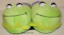Disney KERMIT THE FROG MUPPETS MOST WANTED Adult Slippers PLUSH HOUSE SHOES S