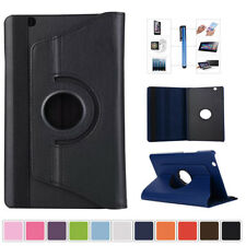 "360 Rotating PU Leather Smart Stand Case Cover For Apple iPad 7.9"" 9.7"" Device"