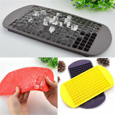 DIY Safety 160 Ice Cubes Frozen Cube Bar Pudding Silicone Tray Mould Mold Top L