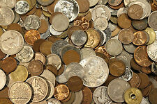 HUGE OLD COIN COLLECTION ESTATE SALE LOTS SET BY THE POUND WITH SILVER COINS!C