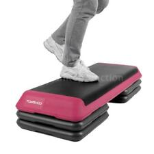 Adjustable Fitness Aerobic Step Platform Stepper Exercise Health w/Risers W3B0
