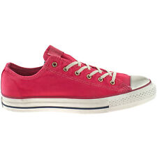 MENS LADIES CONVERSE WELL WORN TANGO RED ALL STAR CANVAS TRAINERS 136715C