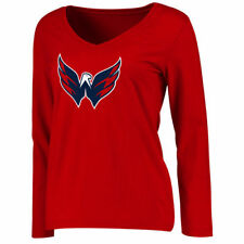 Washington Capitals Women's Primary Logo Long Sleeve T-Shirt - Red