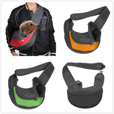 Pet Dog Cat Puppy Carrier Bag  Comfort Travel Tote Shoulder Bag Sling Backpack