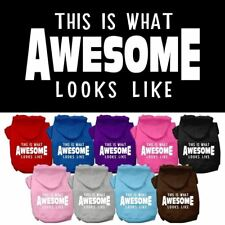 This is What Awesome Looks Like Dog Pet Dog Cat Pet Puppy Hoodie Hooded Winter A