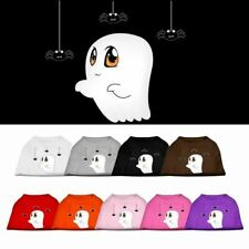 Sammy the Ghost Screen Print Dog Pet Cat Puppy Halloween Shirt