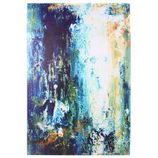 90x60cm Abstract Canvas Print Blue Ocean Art Oil Painting Picture Home Decor