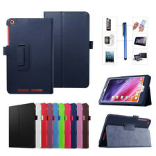"Folio PU Leather Stand Case Cover For Acer Iconia One 7 8 10.1"" Tablet + Stylus"