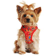 NEW Wrap and Snap Choke Free Dog Harness - Tahiti Red - 4-40 lbs