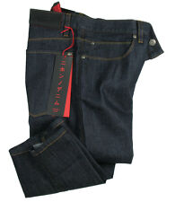 Boss Hugo Jeans 708 in W33/L34 (Slim Fit) Dark Blue Rinsed Japanese Denim