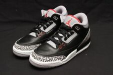 NIKE AIR JORDAN 3 RETRO OG - GS YOUTH BLACK/FIRE RED/CEMENT 854261-001
