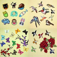 Cute Embroidered Sew Iron On Patch Badge Fabric Cartoon Bag Clothes Applique DIY