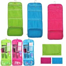 Hanging Travel Camping Makeup Cosmetic Toiletry Bathroom Wash Kit Bag Organizer
