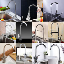 Modern Multi Style Pull Out Kitchen Faucet Swivel Chrome Basin Sink Mixer Tap