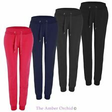 Womens Ladies Jogging Bottoms Tracksuit Yoga Loungewear Pants Fleece Jogger