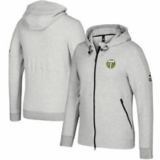 Portland Timbers adidas Ultimate Worn French Terry Full-Zip Jacket - Gray