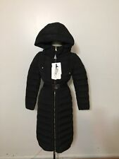 Women's MONCLER Imin Water Resistant Down Coat, Size 1, Small, Black