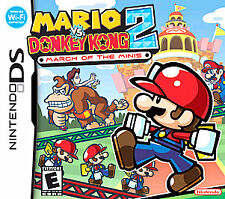 Mario vs. Donkey Kong 2: March of the Minis (Nintendo DS, 2006) Factory Sealed