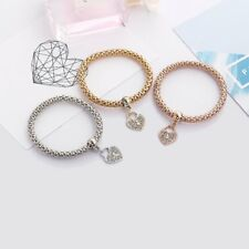 Fashion Women Retro Crystal Zircon Bracelet Gold Plated Multi Color Jewellry