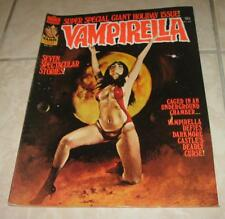 1977 WARREN FAMOUS MONSTERS VAMPIRELLA MAGAZINE NUMBER 58 #58